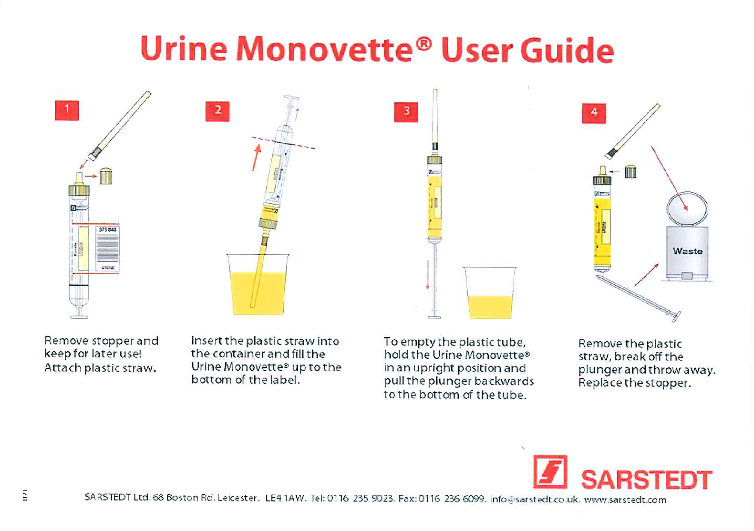 Urine User guide
